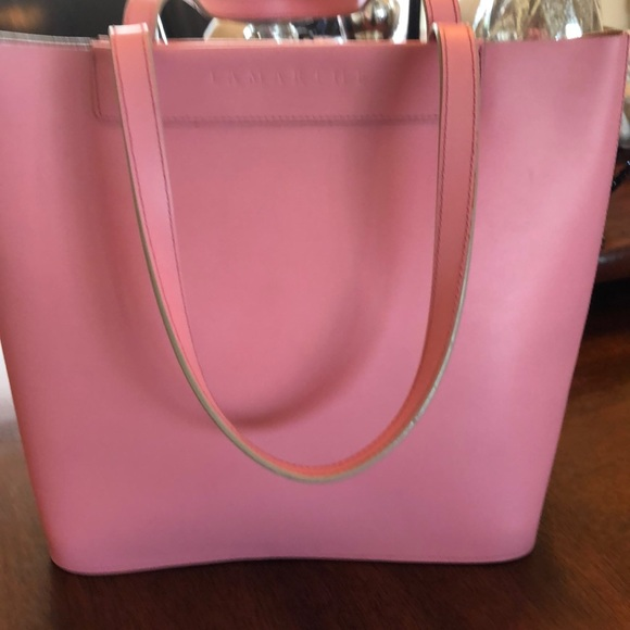 Lamarthe Handbags - Lamarthe from France Pink leather Tote